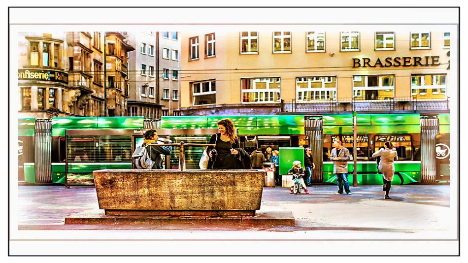 Basel am Marktplatz