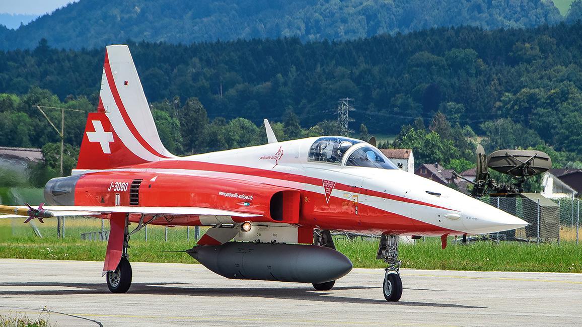 Militärflughafen Emmen bei Luzern