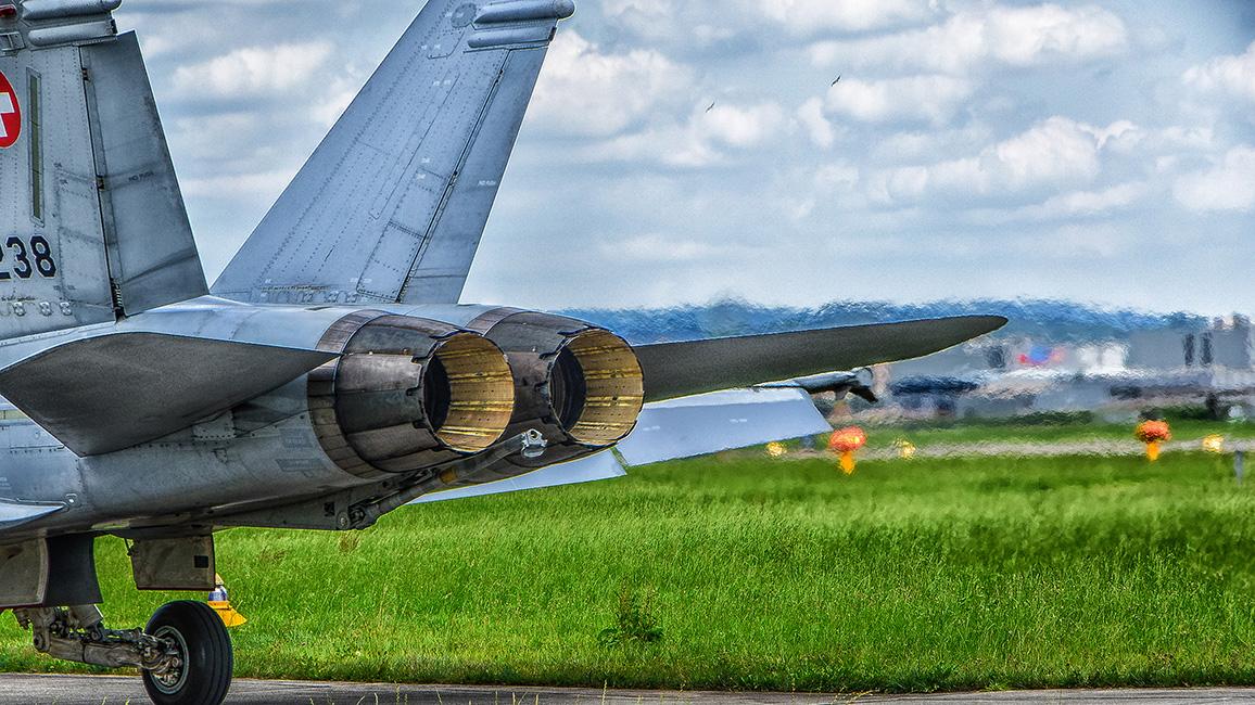 Militärflughafen Emmen