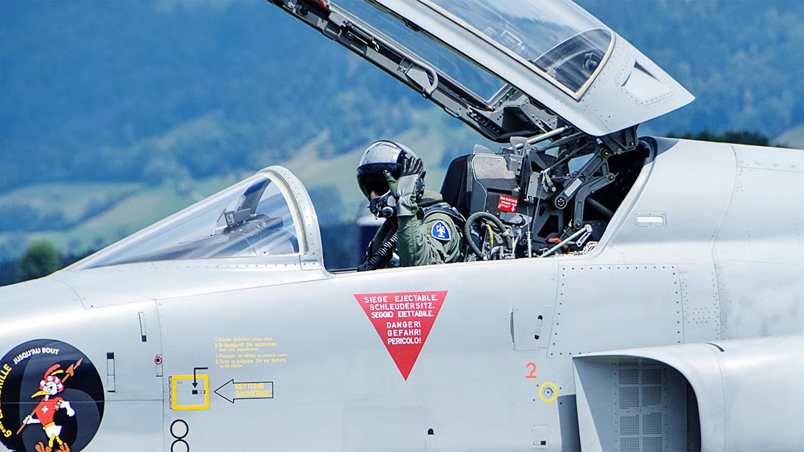schweizer Jagdflugzeug  F/A-18 C/D Hornet