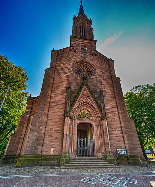 Kirche in Müllheim (Baden)