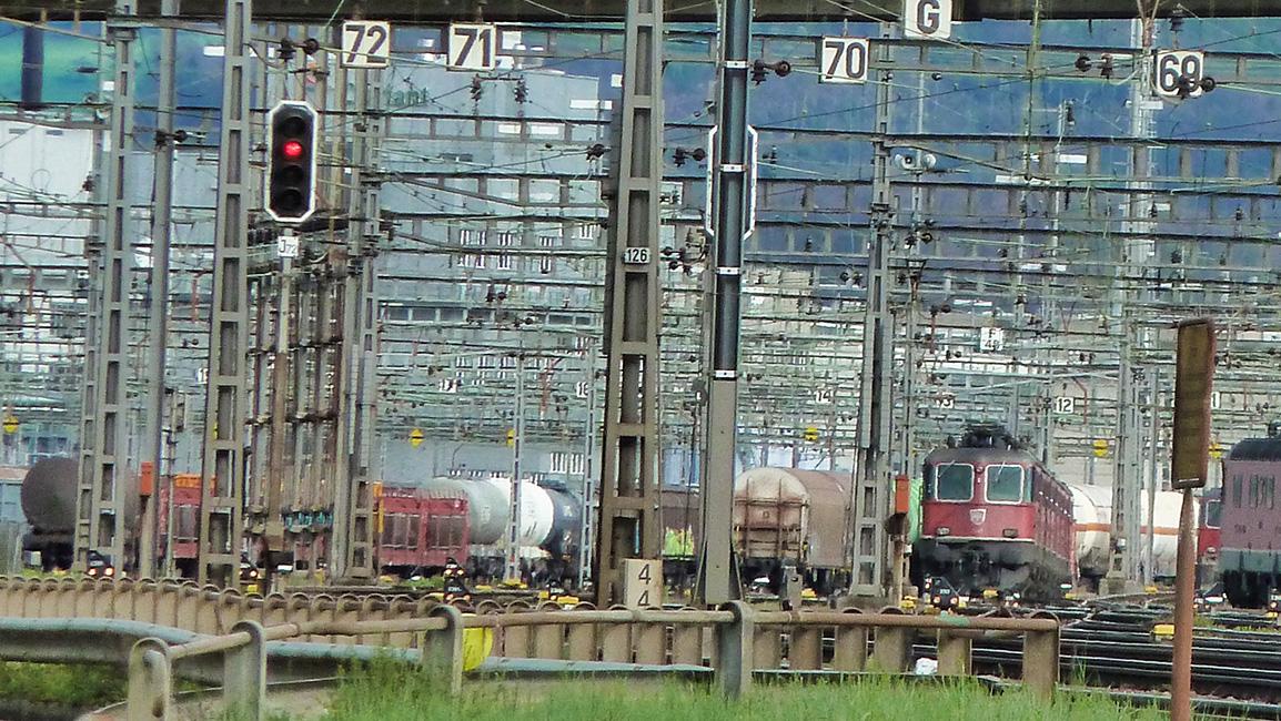 Güterbahnhof Pratteln CH