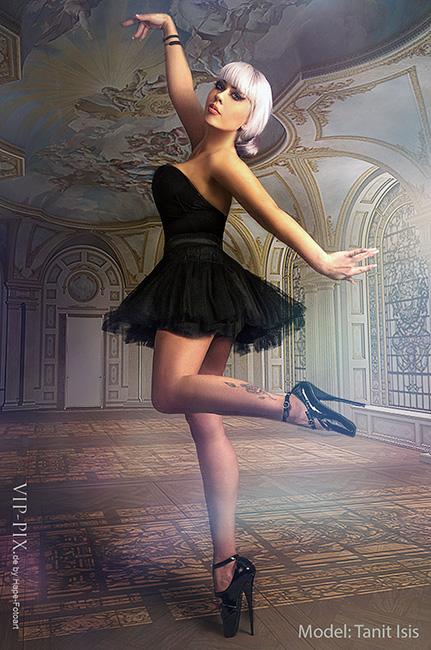 die Balett Tänzerin