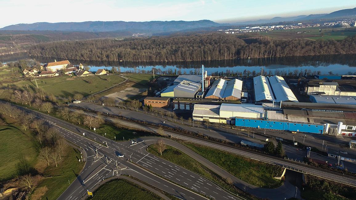 """Industrie Landschaft  """"Drohnenaufnahme"""""""