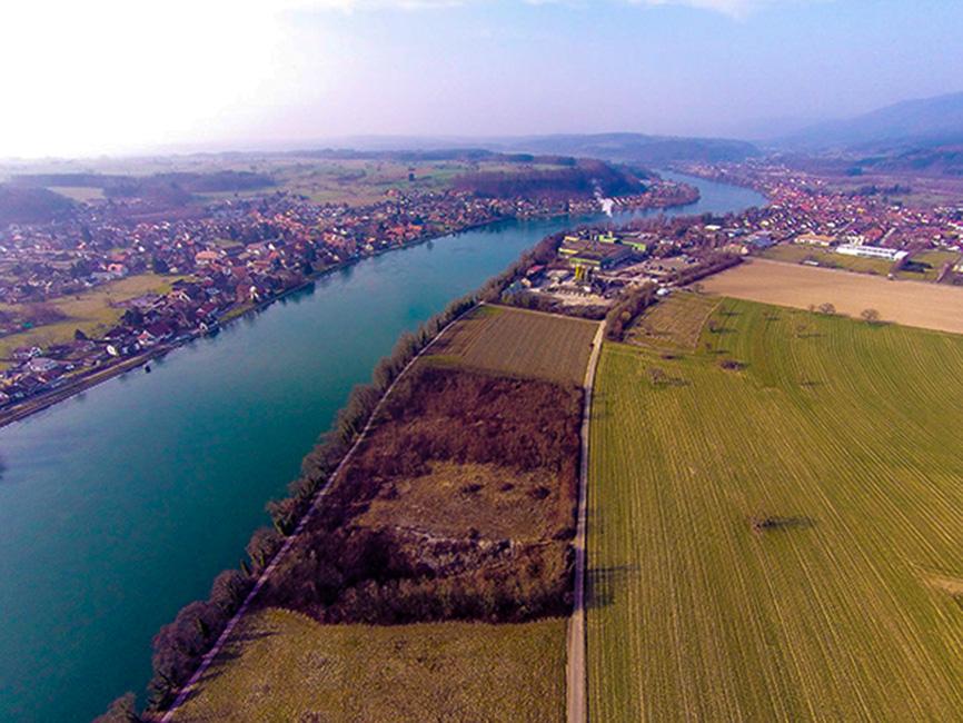 Der Rhein bei Bad Säckingen