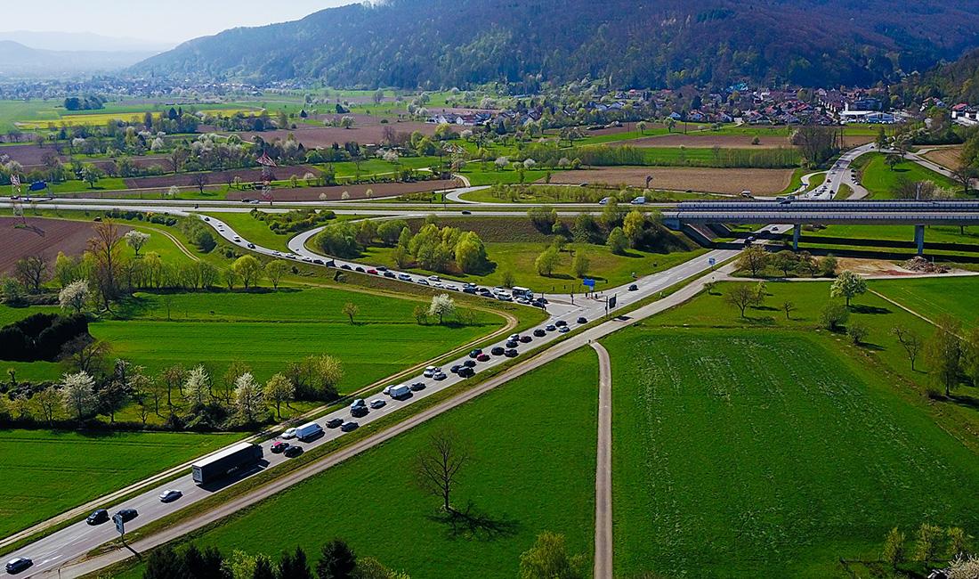 A98 Ausfahrt Rheinfelden  Nord