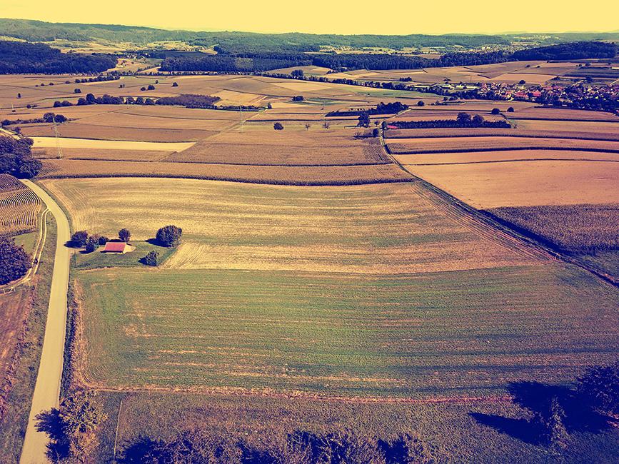 Felder und Auen