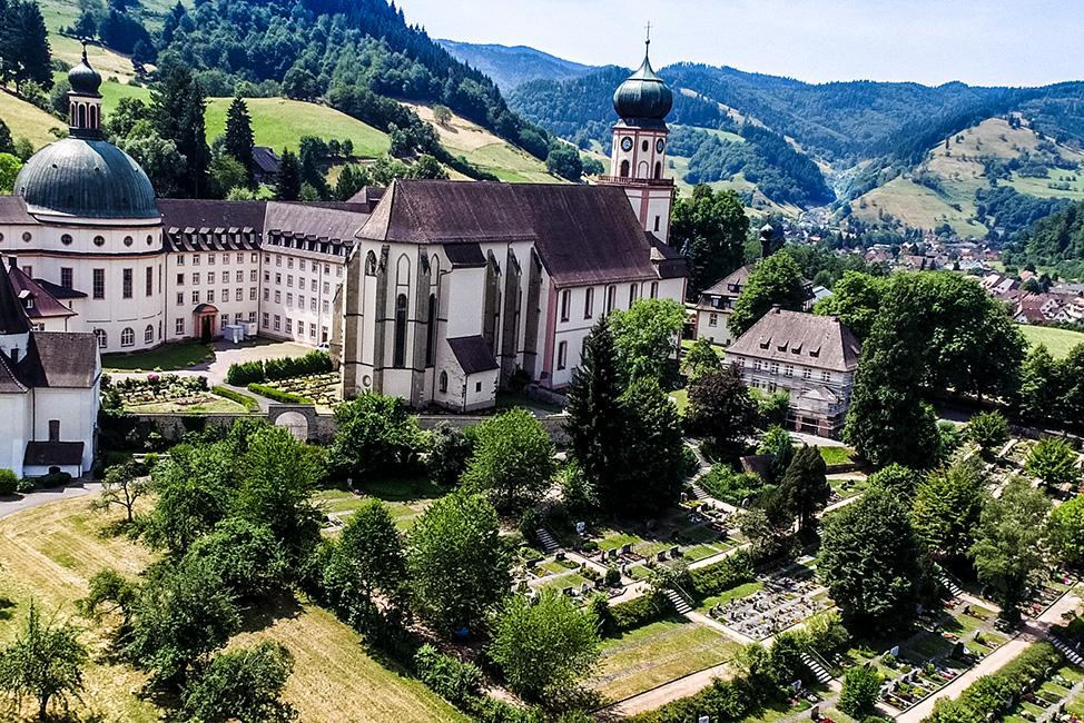 Kloster St. Trudpert im Münstertal  b. Staufen