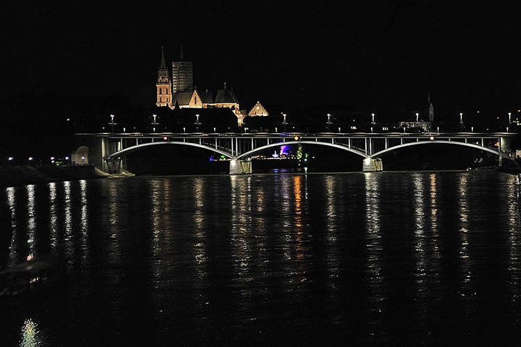 Rheinbrücke in Basel