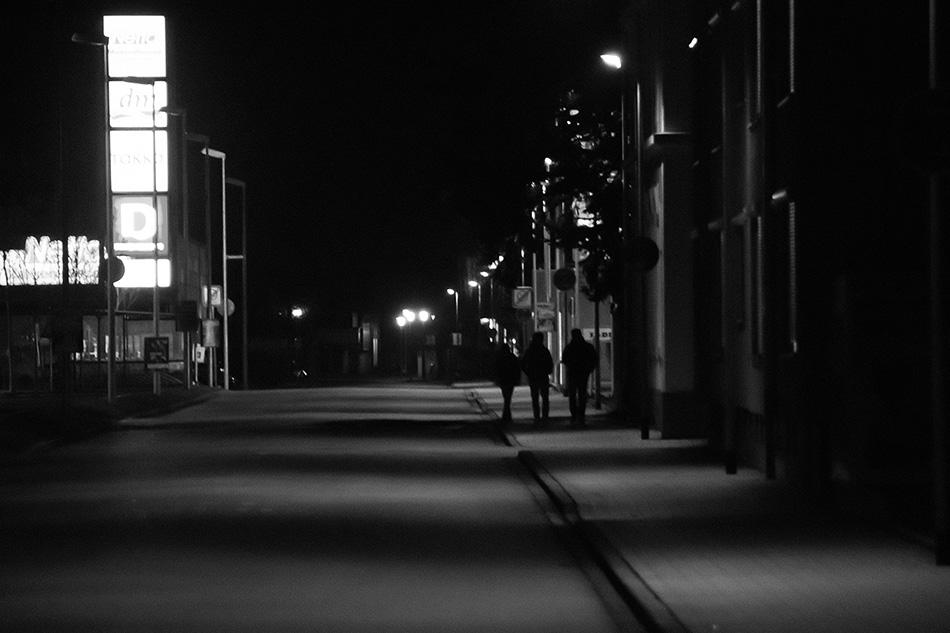 Rheinfelden bei Nacht