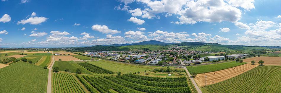 Weindorf Auggen im Markgräflerland