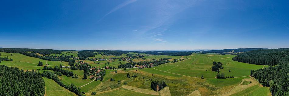 Schwarzwald Panorama  in der Nähe von Herrischried